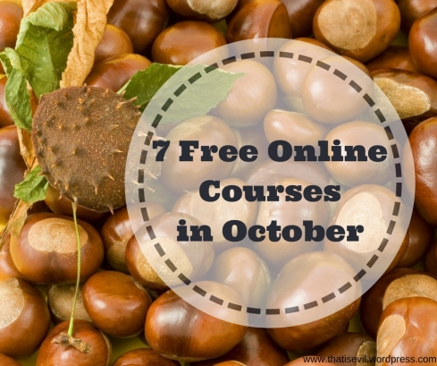 7 Free OnlineCoursesin October