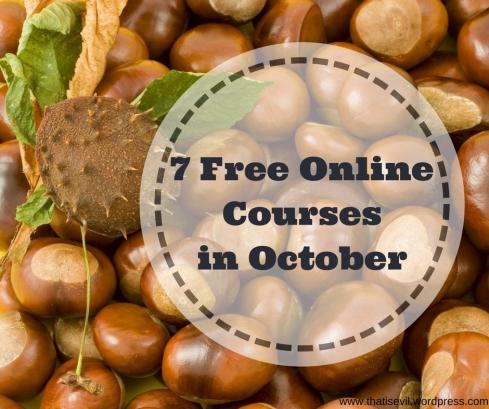 7 Free OnlineCoursesin October